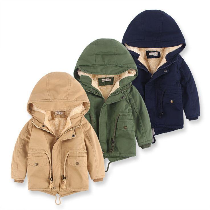 Новое прибытие мальчик куртка теплая верхняя одежда зимние пальто мальчиков дети куртка толстые мальчиков зимняя куртка для мальчика с капюшоном 3 цвета купить на AliExpress