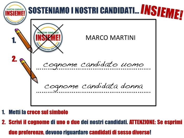 La parola futuro si scrive...INSIEME! Tutti uniti per Poggio a Caiano a sostegno di Marco Martini Sindaco alle elezioni amministrative del 26 e 27 Maggio 2013.    Il programma:  http://www.marcomartinisindaco.it/programma/   La squadra:  http://www.marcomartinisindaco.it/la-squadra/     www.insiemepartecipo.it  scrivici@marcomartinisindaco.it      You Tube:  http://www.youtube.com/user/InsiemePoggioaCaiano?feature=mhee    Facebook:  http://www.facebook.com/insieme.poggioacaiano