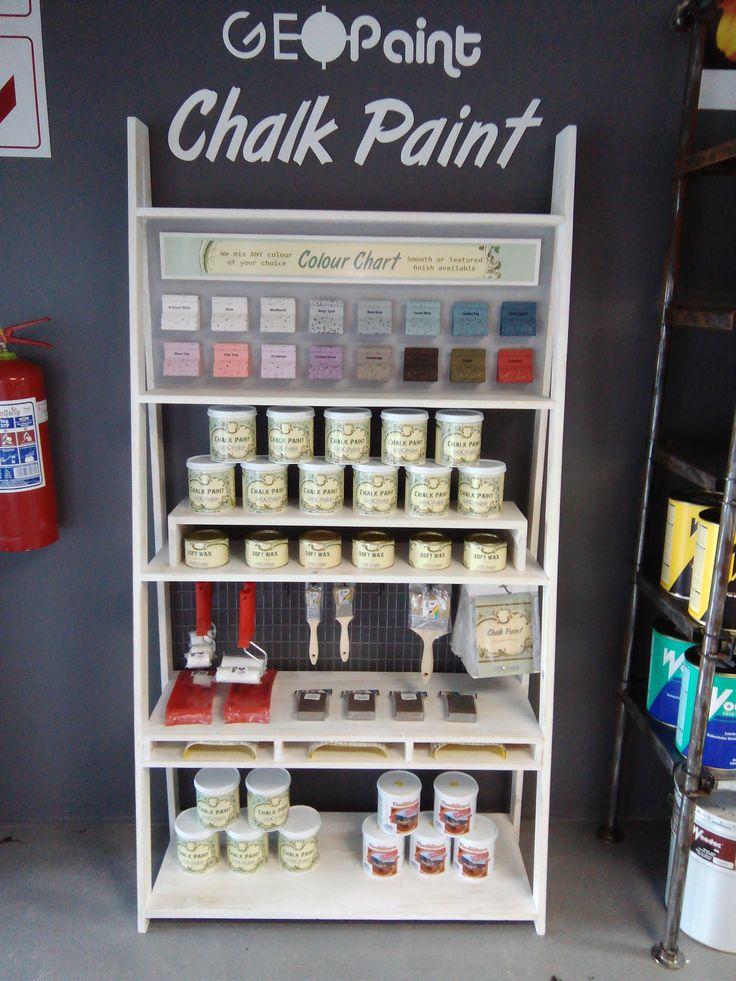 Geopaint Chalk Paint Display Shelve
