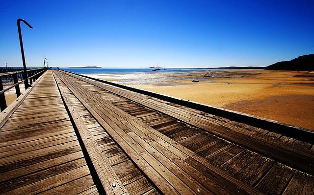 Kingfisher Bay Pier @ Fraser Island