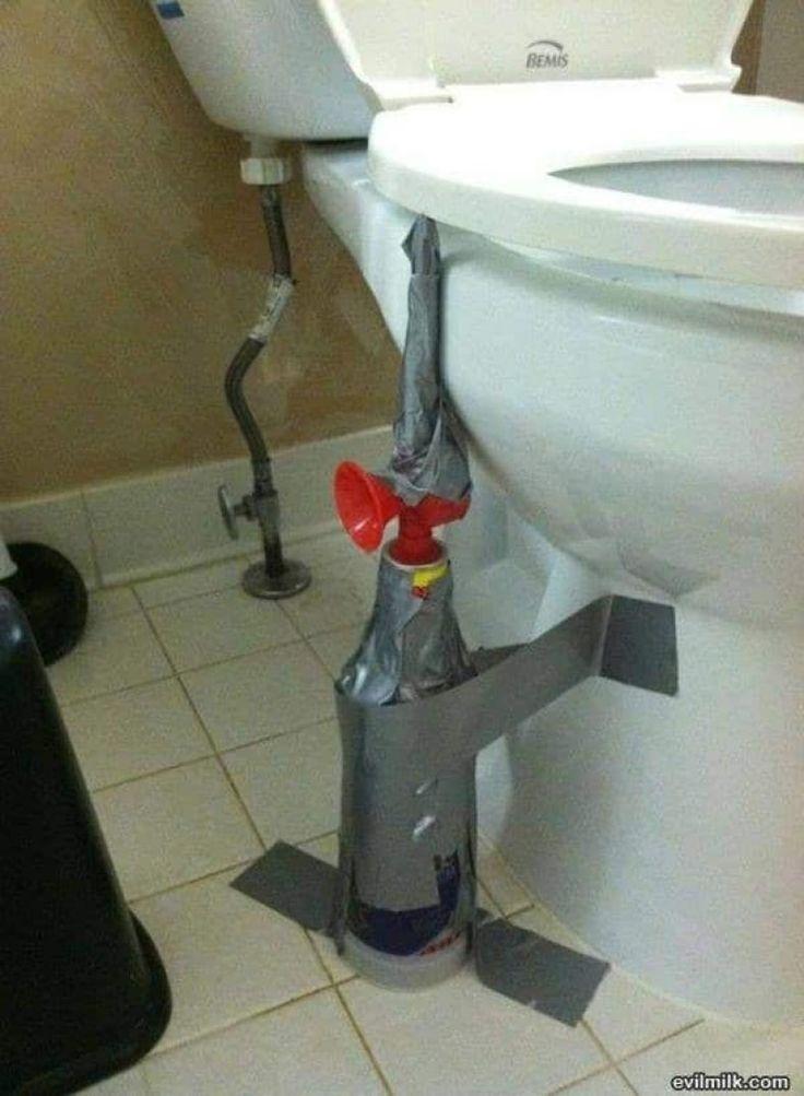 Toilet Bowl horn prank