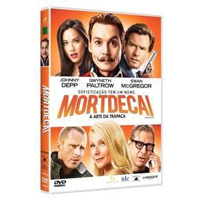 DVD - Mortdecai - A Arte da Trapaça