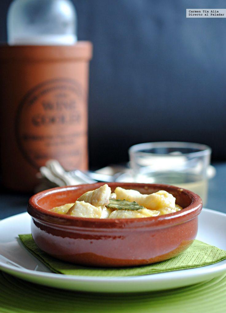 Caz n al azafr n receta f cil sencilla y deliciosa for Comida facil y sencilla