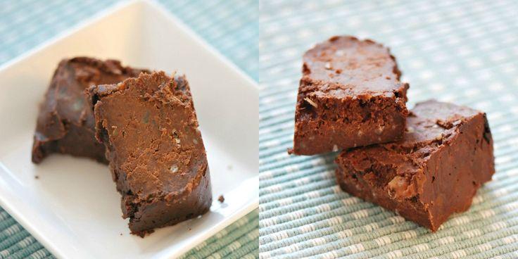 Gezonde snack: suikervrije brownie