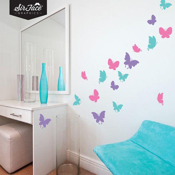 Butterflies Wall Decal Set