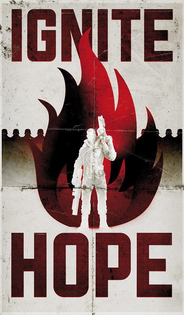 Wolfenstein - The New Order by Scott Woolston, via Behance