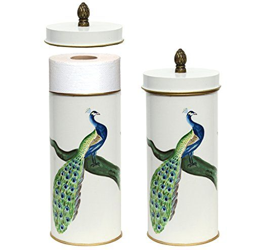 Toilet Paper Holder Standing Holds 2 Rolls Toilet Paper Bathroom Accessory  For Storage Peacock Allen Http