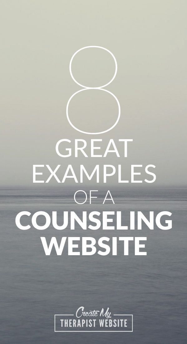 8 examples of a therapist website. Great way to get ideas for your own counseling or private practice site. Check it out: http://www.createmytherapistwebsite.com/therapist-website-examples-atlanta-georgia/?utm_content=bufferd4f17&utm_medium=social&utm_source=pinterest.com&utm_campaign=buffer