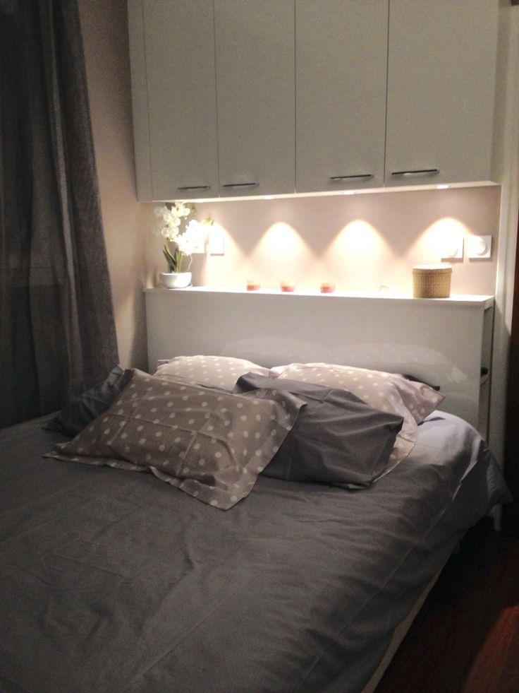 Chambre cosy réalisation la maison agencée par Silvent