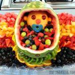 DIY Baby Fruit Basket for a Baby Shower