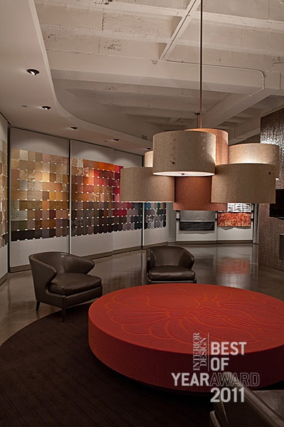 Maya Romanoff Flagship Showroom By Marquardt Work Completed As Design Collaboratives In Chicago