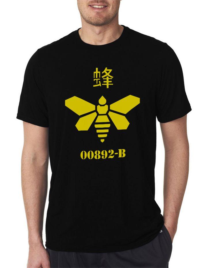 Methylamine Breaking Bad Walter White Heisenberg Code Men's T Shirts Size S-XXL