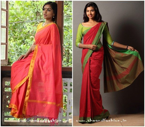 Pure cotton daily wear sarees