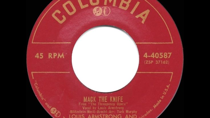 1956 HITS ARCHIVE: Mack The Knife - Louis Armstrong & his All-Stars