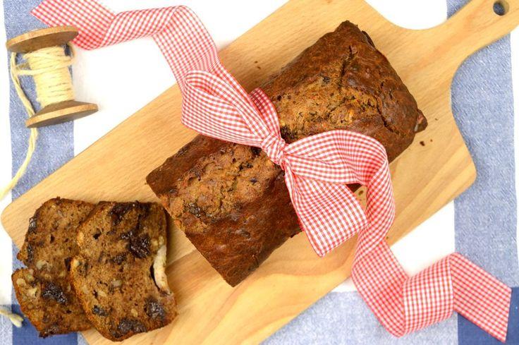 Σοκολατένιο banana bread χωρίς ζάχαρη — Paxxi