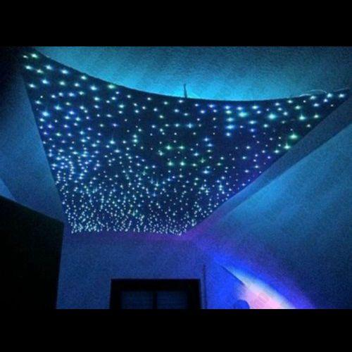 die besten 25 sternenhimmel led ideen auf pinterest palettenbettgestell glasfaser und. Black Bedroom Furniture Sets. Home Design Ideas