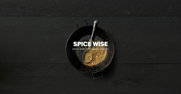 Spice Wise   Zoutloos koken met kruiden- en specerijenmixen