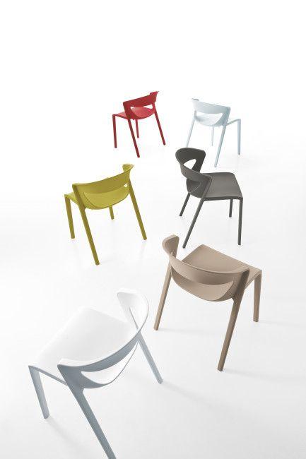 Kicca One – Kastel - Chair Design - à découvrir chez Buromandie SA à Fully http://www.buromandie.ch / Mobilier de bureau - aménagement de bureau