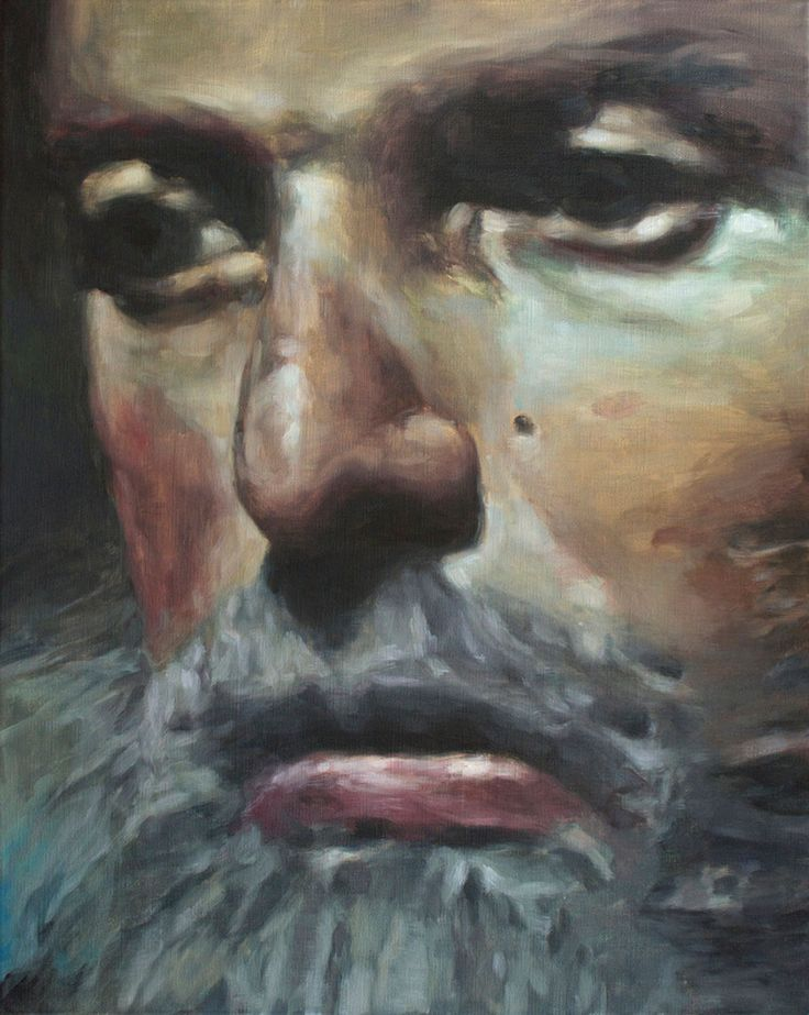Damien Cadio - 2011 oil on canvas - 50 x 40 cm www.evahober.com