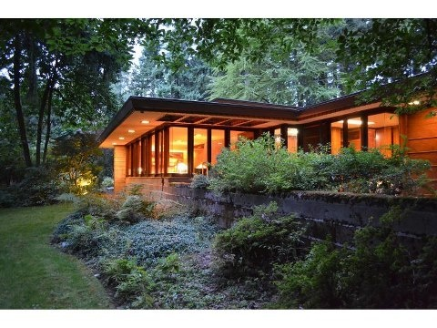 A Historic Home Designed By The Legendary Frank Lloyd Wright Is For Sale In  Sammamish,