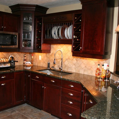 14 best images about uba tuba granite counters on for Black cherry kitchen designs