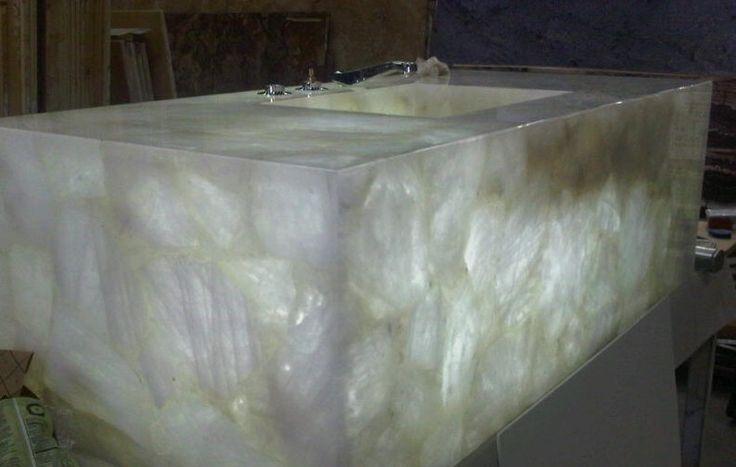 Cumar Custom Made Sink Using 9 Individual Pieces Of