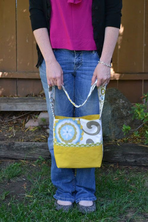 Free Bag Pattern and Tutorial - Busy Bag