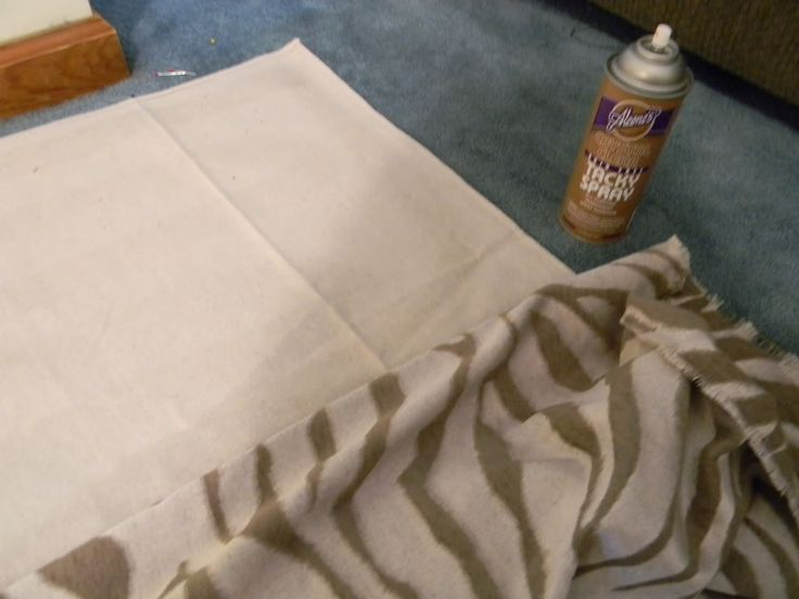 Fabric rug   1} Heavy fabric like upholstery fabric, I used 4 yards  {2}Canvas drop cloth for backing and for the edges  {3} spray adhesive for fabric, it helps keep it together while working  {4} lots of fabric glue  {5}heavy duty thread  {6}pins and a sewing machine      Read more at http://www.remodelaholic.com/how-to-make-a-fabric-rug-tutorial/#grzWXuYMVfuCqzv0.99