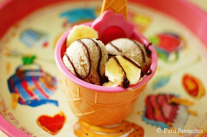 Lody bananowe / banana ice cream