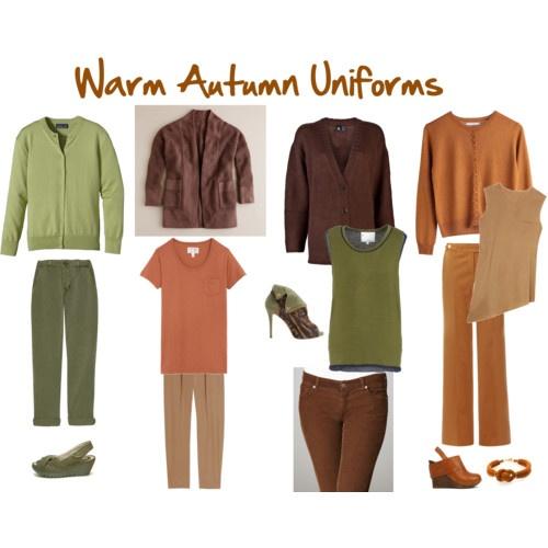 Warm Autumn Uniforms