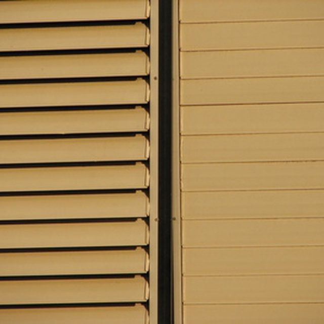 Aluminum blinds can be painted to match your decor.