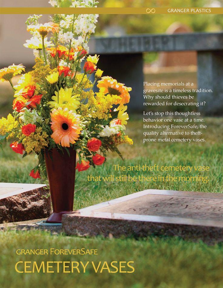Flower Vases For Grave Markers