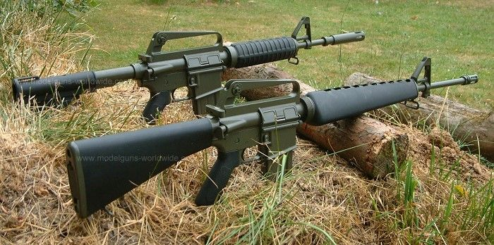 M16a1 On The Right Rifles Pinterest The O 39 Jays