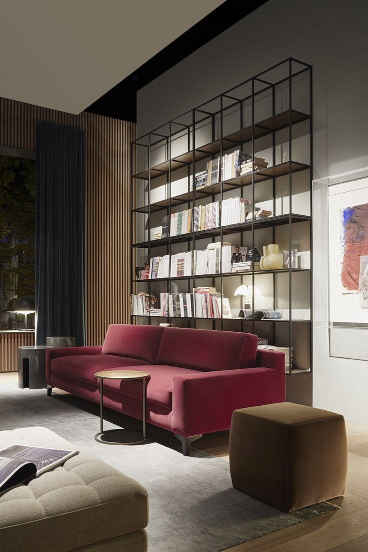 Elegant MERIDIANI I PRINCE Sofa I HRDY Wall Units
