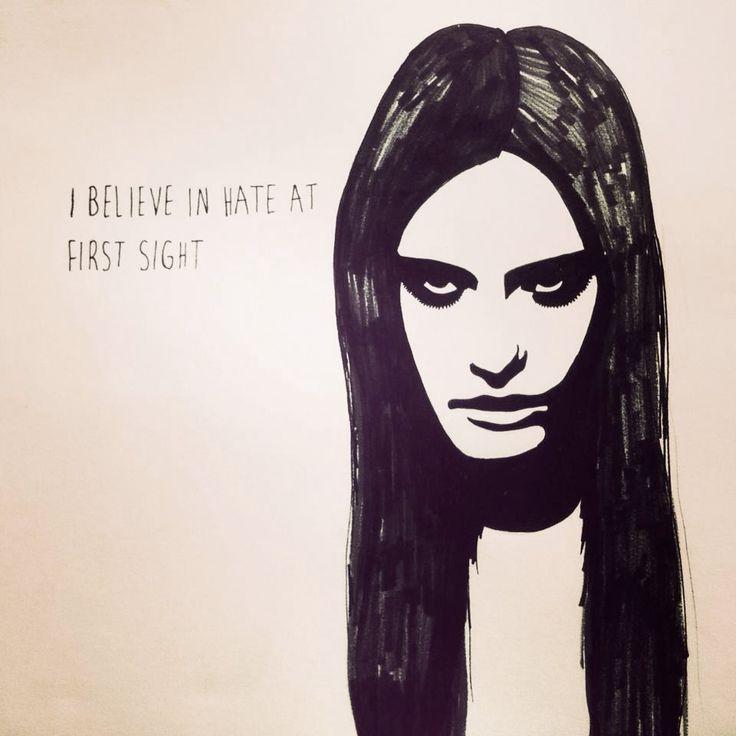 I believe in hate at first sight. Lisen Haglund | http://instagram.com/nattskiftet | http://lisenhaglund.tumblr.com/