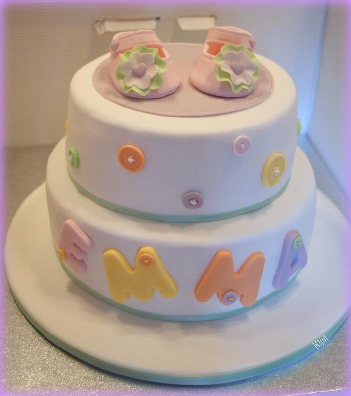 Emma's cake (for a really lovely baby girl)