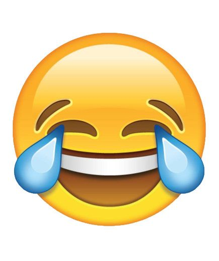 Laughing crying emoji | It doesn't even have any letters.