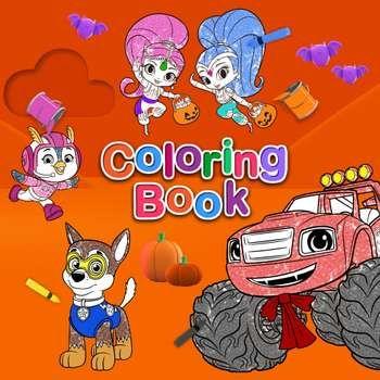 Nick Jr. Coloring Book | *Heavy Breathing* Someday..... | Nick jr