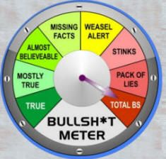 Image result for Obama BS meter