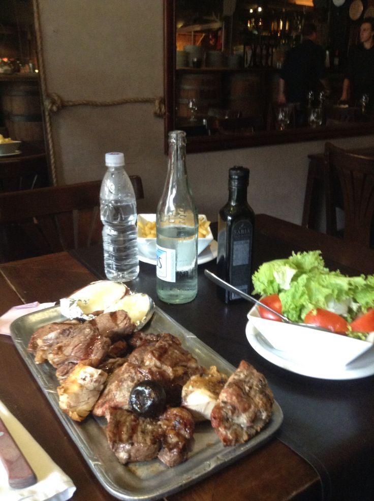 #Argentina BBQ meal