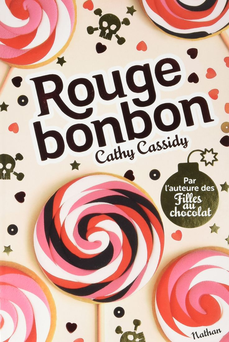 Rouge bonbon de Cathy Cassidy aux éditions Nathan #inmybookworld