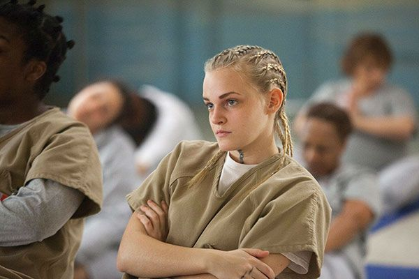 Madeline Brewer in a scene from season 1 of Netflix's 'Orange is the New Black.'