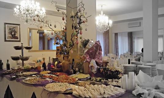 Dettaglio del buffet pasquale . Hotel Torino Jesolo