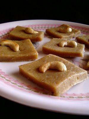Sukhadi ~ Wheat Flour Burfi