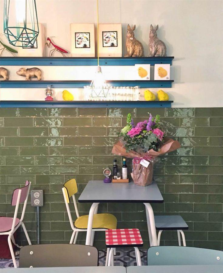"""Cafetería Cripeka en Madrid (artículo """"De ruta con... la Bici Azul"""")"""