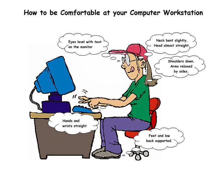 Ergonomics Made Simple - Posters for Computer Work and Workplace Safety