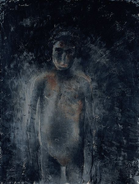 Nu Noir - Jean Fautrier - WikiArt.org