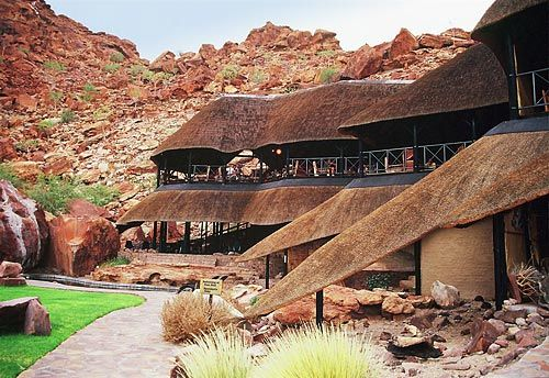 twyfelfontein lodge - Namibie