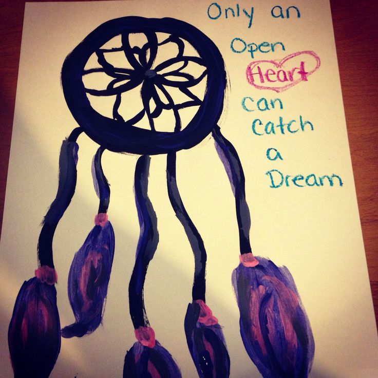 Only and open heart can catch a dream