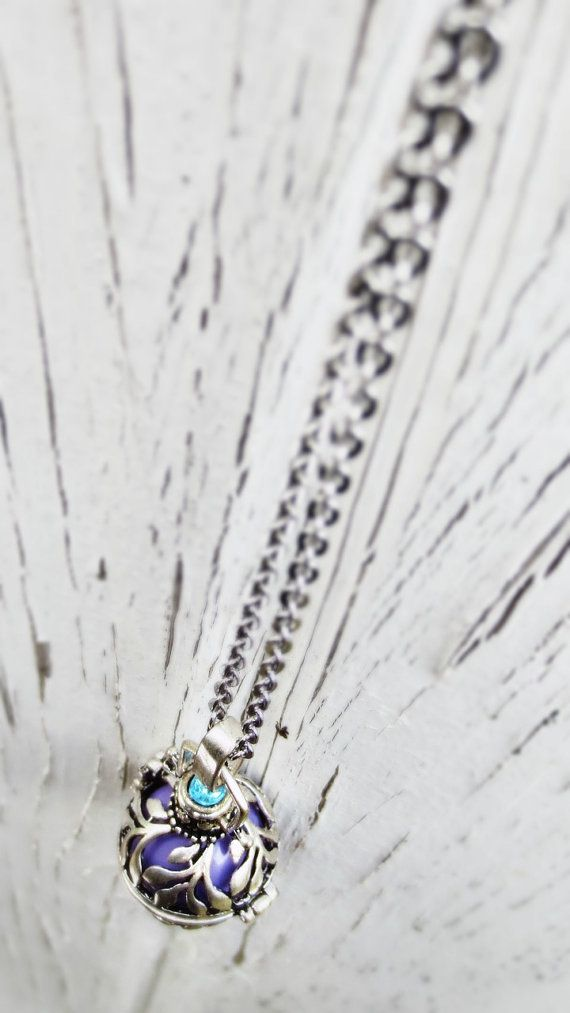 Bola Necklace Maternity/ Pregnancy by InBetweenTheRaindrop on Etsy